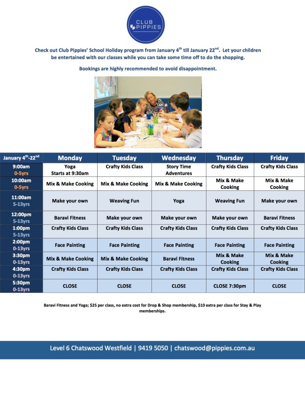 Summer Program Poster
